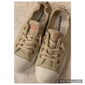 Converse size 9.5 slip on